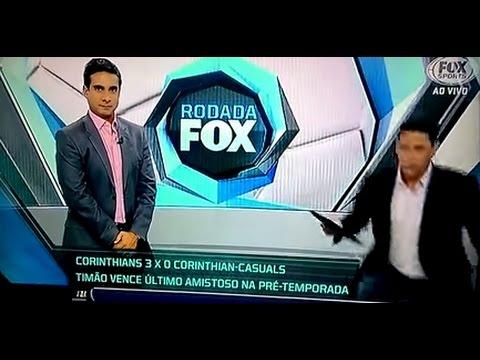 PVC desmaia ao vivo Fox Sports
