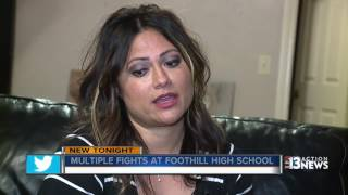 Multiple fights at Foothill High School, parents want CCSD to do something about it