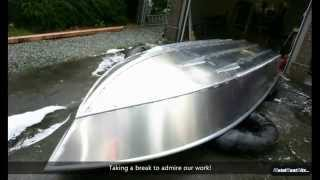 Building a 16 Foot Aluminum Fishing Boat From a Kit