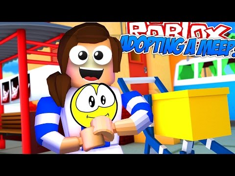 Roblox Meep City LITTLE CARLY ADOPTS A BABY