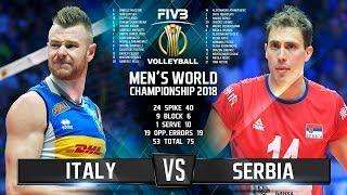 Italy vs. Serbia   Highlights   Final 6 Mens World Championship 2018