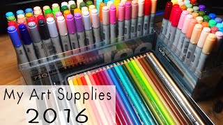 My Art Supplies 2016
