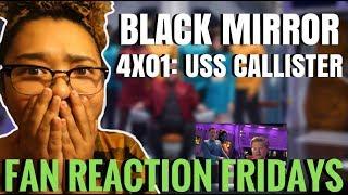 "Black Mirror Season 4 Episode 1: ""USS Callister"" Reaction & Review | Fan Reaction Fridays"