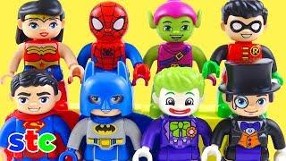 Lego Duplo Marvel y DC Comics Aventuras El Duende Verde vs Spiderman