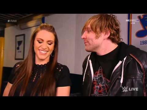 Xxx Mp4 Stephanie McMahon Dean Ambrose Backstage 3gp Sex