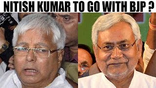 Nitish Kumar eyeing to patch – up BJP after tussle with Lalu | Oneindia News