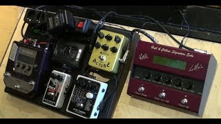Kurt Froberg (The Ryders) Talks About Hall & Collins Echo Unit & Pedals