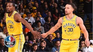 Steph Curry, Kevin Durant lead Warriors to comeback win vs. Kings   NBA Highlights