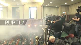 Kosovo: Tear gas halts vote on Montenegro border demarcation