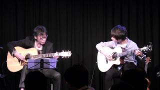 (Sungha Jung) Perfect Blue - Rynten Okazaki & Sungha Jung