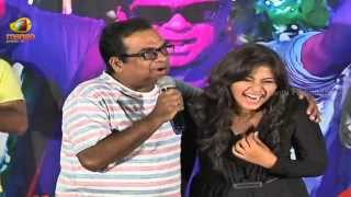Brahmanandam Funny Speech | Geethanjali Promotional Song Launch | Anjali