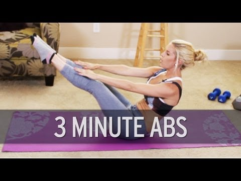 3 Minute Ab Workout