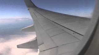 Turbulence  captain audio 737 Wing flexing Pacific Blue Virgin Australia  04NOV11 DJ61