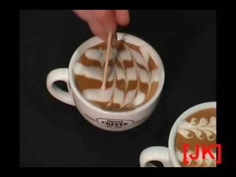 Malowanie na kawie Painting on a coffee