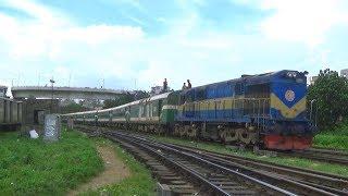 Speed of Silk City Express Train of Bangladesh Railway