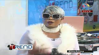 Kush Tracy is back and would like to collabo with Fena Gitu #theTrend