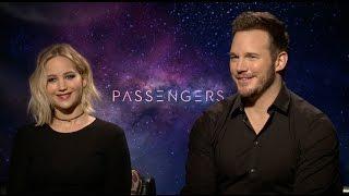 PASSENGERS interview - Jennifer Lawrence, Chris Pratt, Michael Sheen