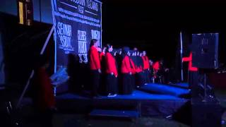 Paduan Suara Mahasiswa pada Hasanuddin Techno Fest