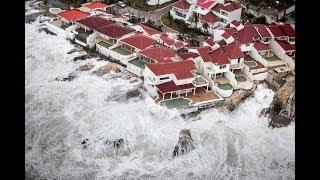 SURVIVE HURRICANE IRMA (Saint Maarten) DURING/AFTER FOOTAGE HD