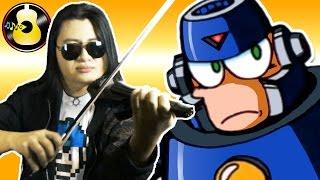 Mega Man 3 - Hard Man Theme (Rock Violin Cover/Remix) || String Player Gamer