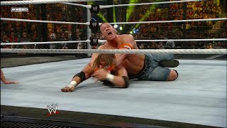 John Cena wins Raw Elimination Chamber Match: Elimination Chamber 2010