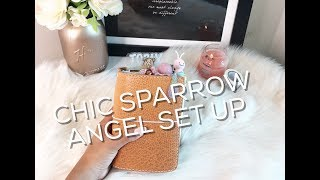 NEW Chic Sparrow Pemberly Angel TN Set Up!