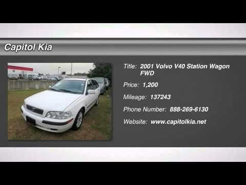 2001 VOLVO V40 Austin, TX P1687
