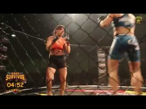 Cage Survivor Fight Night New Blood 2 Marianthi Samouhou vs Christina Kamenitsa