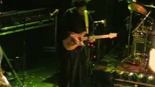 Solo Guitare Hassan Hajdi le guitariste d'Ange au moulin de Brainans le 21 Novembre 2009