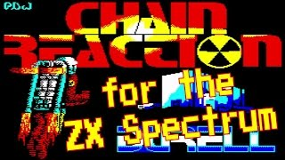 Chain Reaction from Durell Software for the ZX Spectrum (1987)