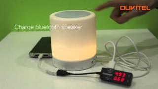 Oukitel K10000 REVERSE CHARGE,10000mAh(Phones,Ipad,LED light,fan etc.)