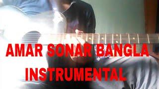 National Anthem Of Bangladesh || Instrumental || Acoustic Guitar