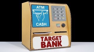 Amazing DIY ATM Machine from Cardboard at Home