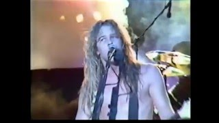Metallica Fight Fire With Fire Metal Hammer Festival 1985