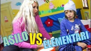 ASILO VS ELEMENTARI - LE DIFFERENZE -  video divertenti per bambini - Canale Nikita