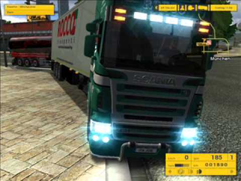 Euro truck simulator 1.3 whit mod.wmv
