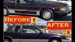 Car Trim Molding Repair Bumpers Doors ~ DIY Cheap Paint Fix ~ Cheap Fixes & Tips