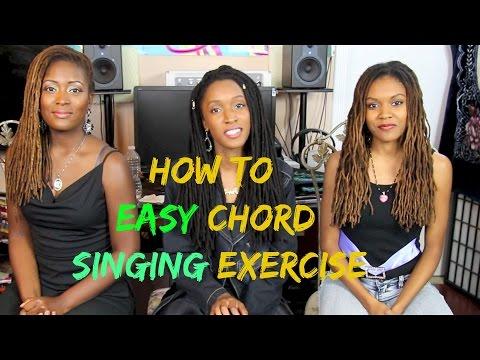 How To Basic Harmony Easy Chord Singing Exercise