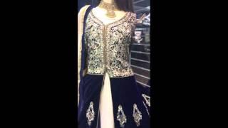 Luxury Velvet Jacket Style Suit Memsaab - The Heart of Beauty & Design