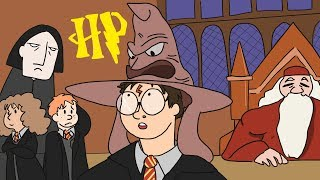 The ENTIRE Story of Harry Potter (All Years) in 3 Minutes! | ArcadeCloud