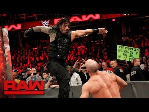 Xxx Mp4 Roman Reigns Vs Cesaro Intercontinental Championship Match Raw Dec 11 2017 3gp Sex
