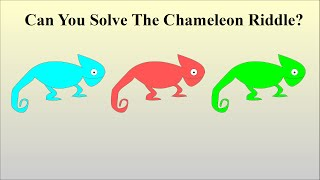 Can You Solve The Chameleon Riddle?