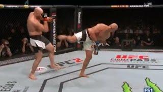 Junior Dos Santos VS Ben Rothwell - Highlights - UFC Fight Night 86 - (Simulacion)