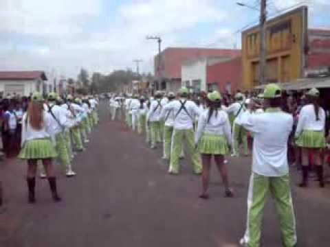 Apresentação final da banda estudanntil de Buritirana MA 2011.