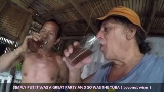 PHILIPPINES FIESTA BOHOL PANGLAO PT 2 Jonas Michael and Daisy Mae AMAZING DELICIOUS FIESTA FEAST