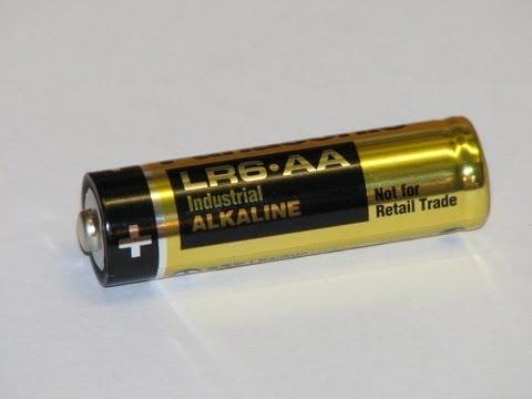 Recharge Your Alkaline Batteries