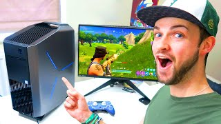 My FIRST GAME of Fortnite: Battle Royale... on PC!