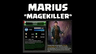 HoDA: Marius the Magekiller with SUBTITLES ES/RUS/PL/:Por/ENG!