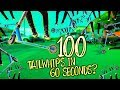 Download Video Download 100 TAILWHIPS IN 1 MINUTE CHALLENGE! 3GP MP4 FLV