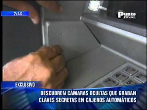 Robo en Cajeros Automaticos .Como evitarlos Frecuencia Latina